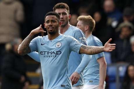 Jesus marcou seu 19º gol na temporada pelo City (ADRIAN DENNIS / AFP)