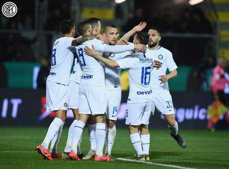 Inter derrotou o Frosinone pelo Italiano (FOTO: Divulgação/Internazionale)