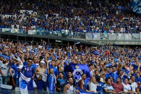 Torcida do Cruzeiro no Mineirão