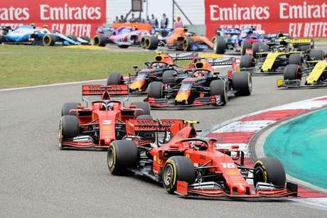 Vettel achou que estava mais rápido do que Leclerc antes das ordens de equipe