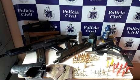 Polícia diz que maioria dos 'armeiros' costumam fornecer armas a facções criminosas