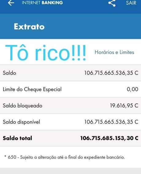 """Pelo grupo do WhatsApp, lotéricos de todo o País relataram o """"recebimento"""" de valores bilionários em suas respectivas contas"""