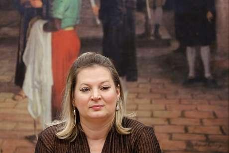 Deputada federal Joice Hasselmann, líder do governo no Congresso 09/04/2019 REUTERS/Adriano Machado