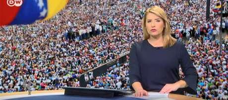 Emissão especial sobre a crise na Venezuela no canal em espanhol da DW