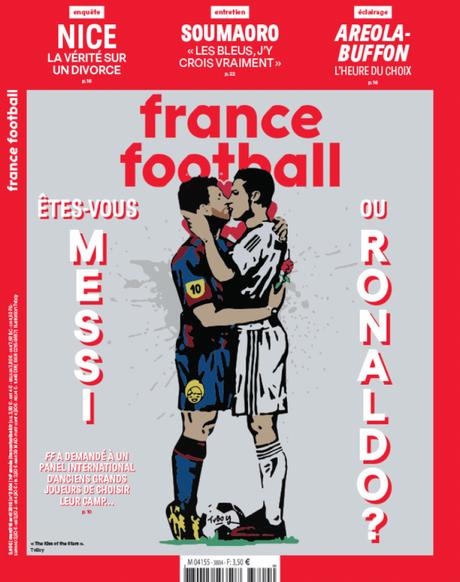 Capa da France Football desta semana (Foto: Reprodução)