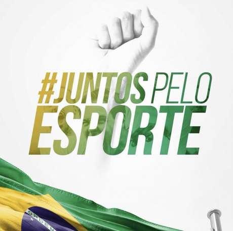 Atletas lançaram manifesto sem citar diretamente o presidente Jair Bolsonaro (Foto: Reprodução/Twitter)