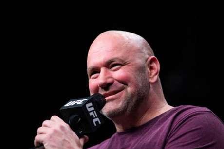 Presidente do UFC fez questão de exaltar o duelo entre Adesanya e Gastelum no UFC 236 (Foto: Getty Images)
