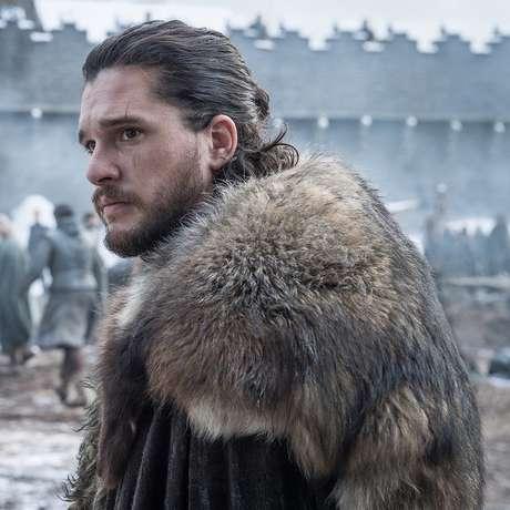 Kit Harington como Jon Snow em 'Game of Thrones'