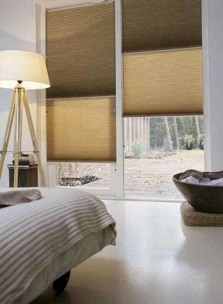 28- Os modelos de cortinas Duofold são embutidos nas esquadrias. Fonte: Pinterest