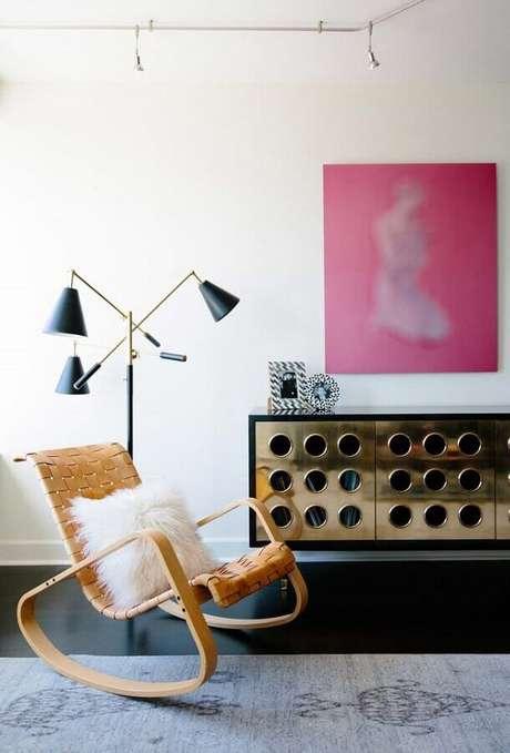 1. A cadeira de balanço é um móvel clássico que nunca sai de moda – Foto: ProDesign