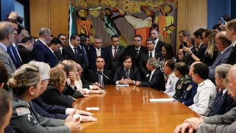Reforma da Previdência tramita no Congresso; troca de farpas entre Bolsonaro e Maia chegaram a preocupar