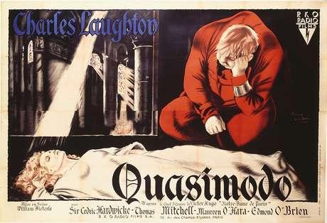 Cartaz do filme O Corcunda de Notre-Dame, de 1939