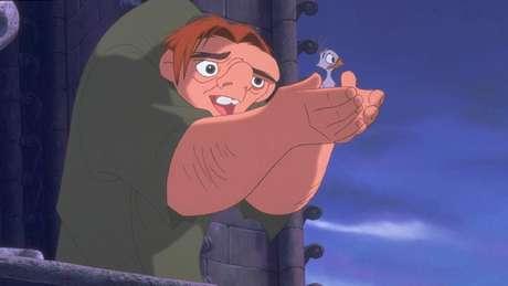 Quasimodo também virou protagonista de um filme de animação lançado em 1996 pela Disney