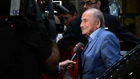 Blatter presidiu a Fifa de 1998 a 2015 (Foto: AFP)