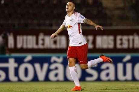 Jobson foi anunciado pelo Santos nesta terça-feira após pagar R$ 1,5 milhão ao Red Bull Brasil (Divulgação/Red Bull)