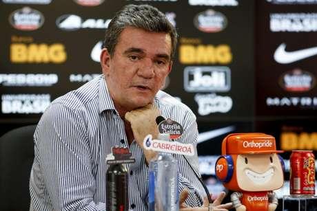 Andrés voltou à presidência do Corinthians em 2018 (Foto: Marco Galvão/Fotoarena/Lancepress!)