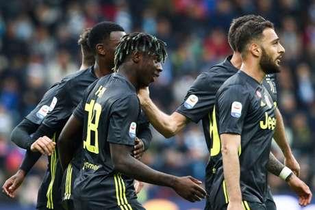 Juventus precisa de um empate com a Fiorentina para levantar o caneco (Foto: Isabella Bonotto / AFP)