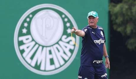 Luiz Felipe Scolari terá nove dias até o próximo jogo do Palmeiras, pela Libertadores (Foto: Cesar Greco)