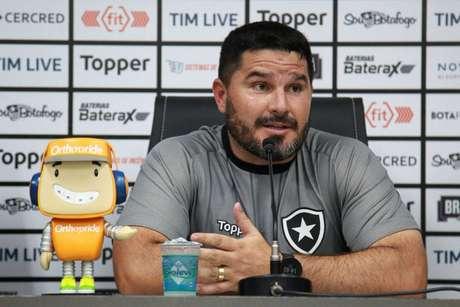 Eduardo Barroca é o novo treinador do Botafogo (Foto: Vitor Silva / SS Press / BFR)