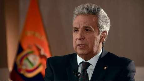 Lenín Moreno falou à BBC News sobre o que Julian Assange fez durante o tempo que passou na embaixada do Equador em Londres