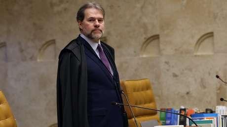 Presidente do STF (foto) foi citado por Marcelo Odebrecht em delação na Lava Jato