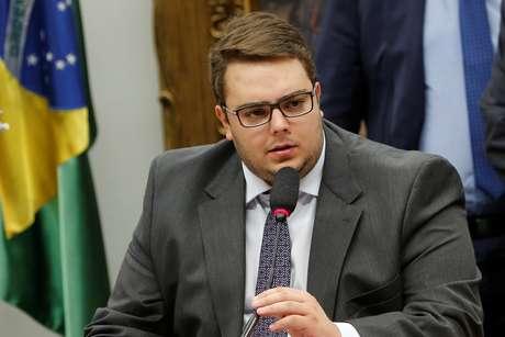 Presidente da CCJ da Câmara, Felipe Francischini, durante reunião do colegiado em Brasília 03/04/2019 REUTERS/Adriano Machado