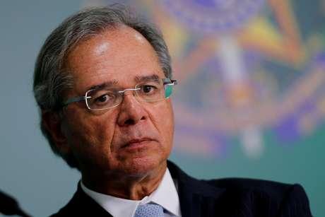O Ministro da Economia, Paulo Guedes, principal responsável por conter as despesas do governo federal