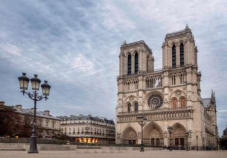 Catedral de Notre Dame antes do incêndio