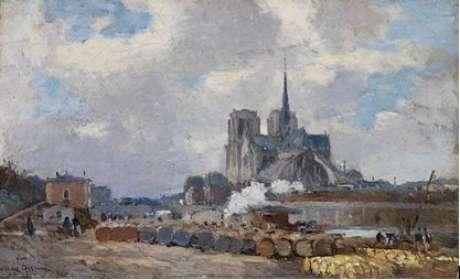Catedral de Notre-Dame : Albert Lebourg