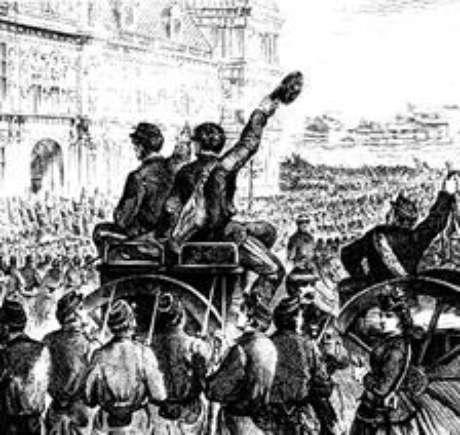Proclamação da Comuna de Paris, 21 de março de 1871