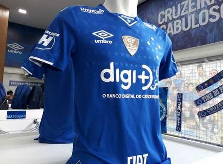 A Raposa já tem oito patrocinadores e deve chegar a 11 nos próximos dias- Divulgação Cruzeiro