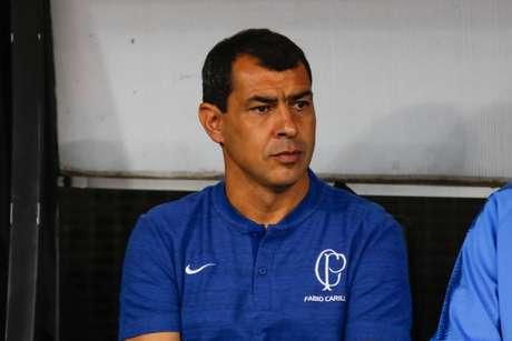 Carille não gostou da construção do Corinthians nesta quinta-feira (Foto: Ricardo Moreira/Fotoarena/Lancepress!)
