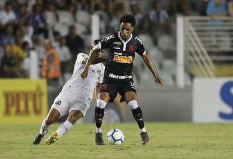 Lucas Mineiro foi encarregado de criar, mas não conseguiu superar dificuldades (Foto: Rafael Ribeiro/Vasco)