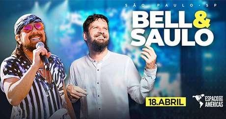 Bell Marques e Saulo se apresentam no Espaço das Américas
