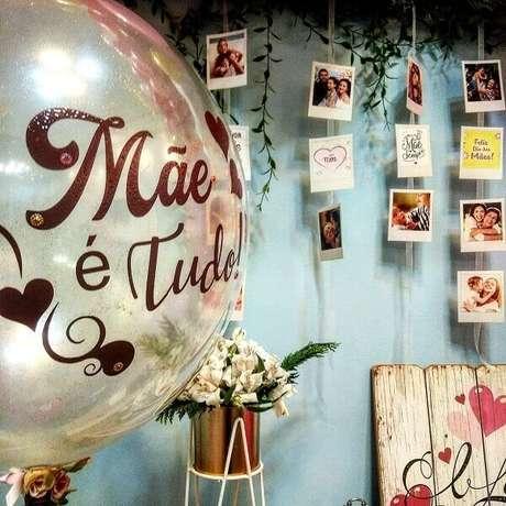 2- A decoração para o dia das mães precisa ser alegre e criativa. Fonte: My Petit Party