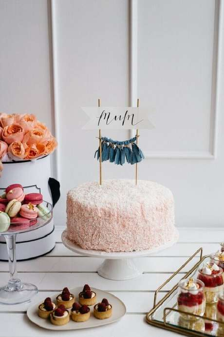 9- A mesa é um importante item na decoração dia das mães. Fonte: IdeiasDecor