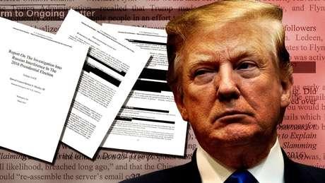 Versão editada do relatório da investigação sobre Trump foi divulgada ao público