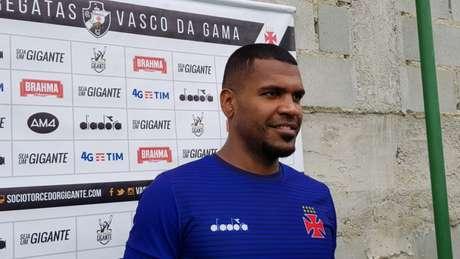 Breno hoje joga pelo Vasco