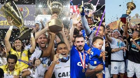 Confira quanto ganhará o campeão dos principais campeonatos estaduais do país em 2019 (Foto: Divulgação)