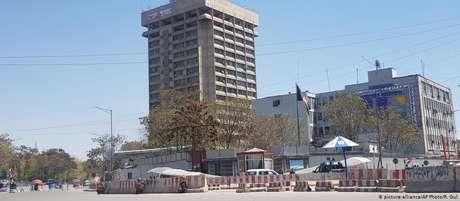 A sede do Ministério de Informação e Tecnologia do Afeganistão