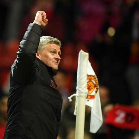O técnico norueguês Ole Gunnar Solskjaer tenta levar o Manchester United a uma nova edição de Liga dos Campeões Reprodução / Twitter