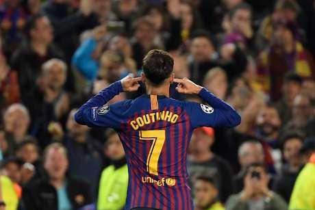 Philippe Coutinho marcou na classificação do Barcelona (Foto: AFP)