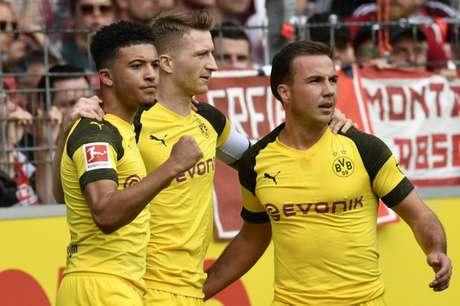 Dortmund venceu e segue firme (Foto: AFP)