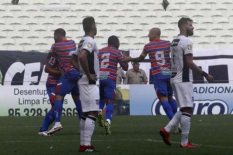 Jogo final entre as equipes do Ceara e do Fortaleza realizado na tarde de hoje na Arena Castelão