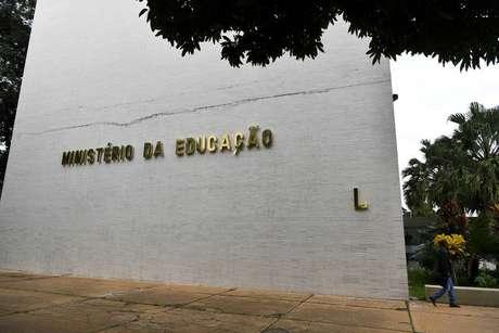 O prédio principal do Ministério da Educação, em Brasília