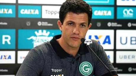 Barbieri agradeceu a experiência por ter trabalhado no Goiás (Foto: Reprodução/TV Goiás)