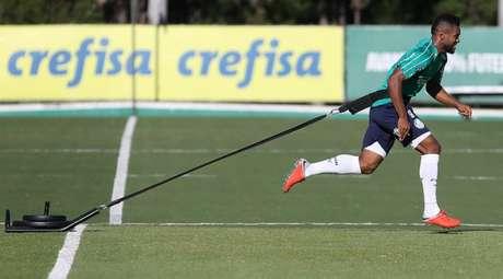 Borja perdeu espaço assim que Deyverson voltou a ficar à disposição de Felipão (Agência Palmeiras/Divulgação)