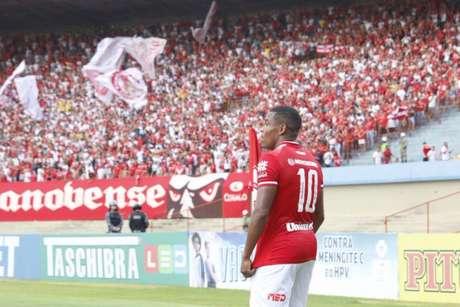 Artilheiro e eleito do Campeonato Goiano em 2019 (Foto: Divulgação/Vila Nova)