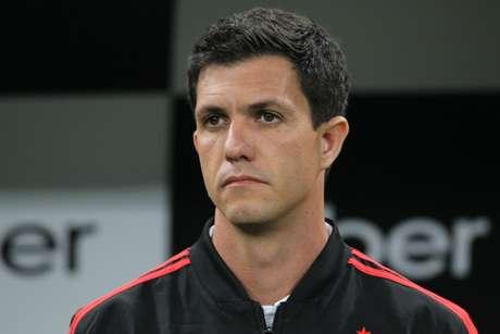 Barbieri foi técnico do Flamengo em 2018