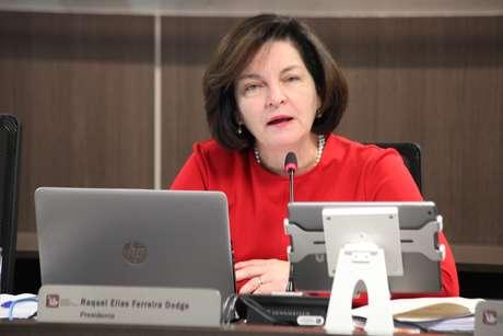 A Procuradora Geral da República, Raquel Dodge, durante a 4° Sessão Ordinária de 2019 do CNMP